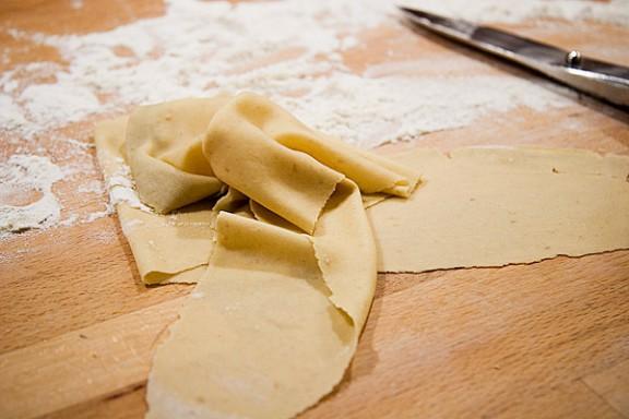 Att lära sig göra pasta är som att lära sig cykla.